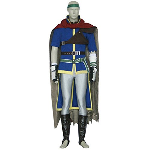 Ike Fire Emblem Costume (Cuterole Men Fire Emblem Ike Cosplay Costume Halloween Christmas Gift Outfit Custom)