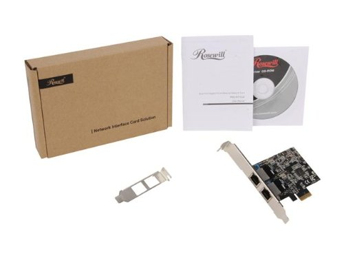 Rosewill RNG-407-Dual PCIe x1 1000 Mbit/s Network Adapter