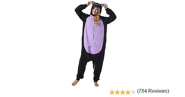 Katara-(10+ Modelos Kigurumi Pijamas Disfraz de Animal Halloween Carnaval, Adultos, Color Gato Negro, Talla 175-185cm (1744): Amazon.es: Juguetes y juegos