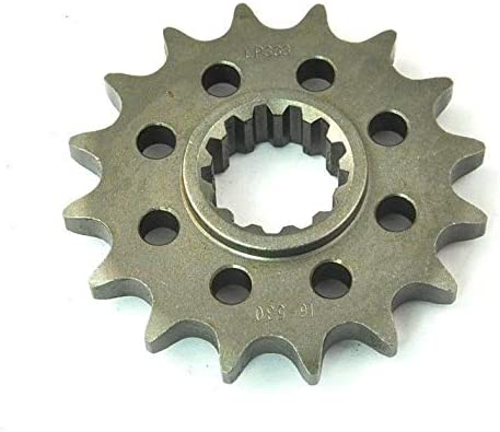 16T 530 for VTR1000F Fire Storm SuperHawk SC3 Chain Steel Front Sprocket