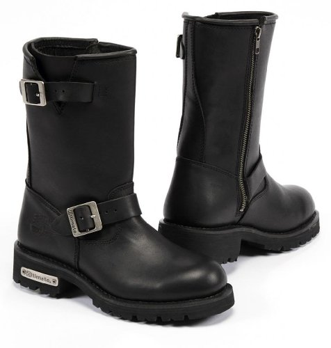 Wide Size Motorcycle Boots - 5