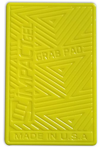 Impact Gel Grab Pad Sticky Phone Holder - Yellow