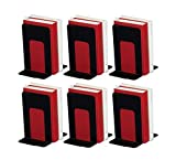 Bookend Supports - Business Source - Black (6 Pairs, Jumbo)