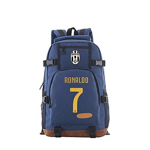 CBA BING Fußballstar C Ronaldo Rucksack, Leichter Reise-Laptop-Rucksack, Leichter, stilvoller, wasserdichter Hochleistungs-Computer-Rucksack