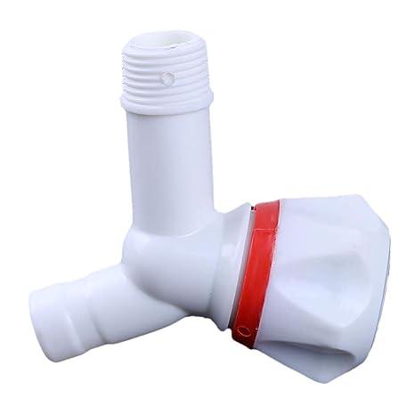 LJSLY ljslyj plástico dispensador de Agua Lavadora Grifos Cocina de Agua de Lavado Grifo, plástico