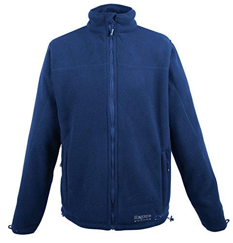 Bleu - bleu marine XXL DEPROC-Active Veste teddyfleece cambly