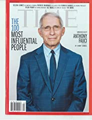 TIME MAGAZINE - OCTOBER 5 / 12, 2020 - THE 100 MOST INFLUENTIAL PEOPLE - ANTONY FAUCI