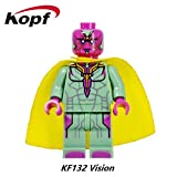 20Pcs KF931 Voltron Team Godmars Robocop Wars Super Heroes Building Blocks Gift Toys for Children Drop Shipping Action Doll KF132