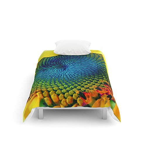 Society6 Solar Energy Comforters Twin XL: 68'' x 92'' by Society6