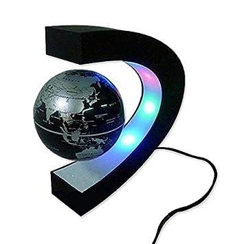 ca395c92b7f818 Eurowebb Globe terrestre LED levitation magique lumineux flottant magnétique
