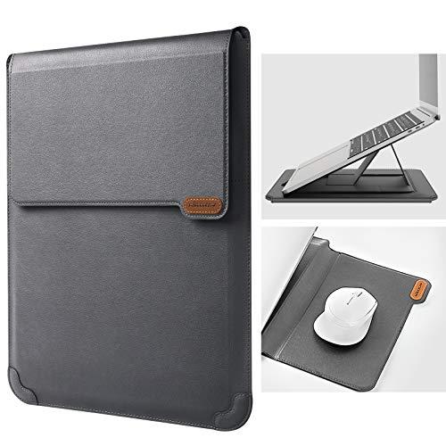 Funda universal para notebook c/soporte 13-14 inch gris