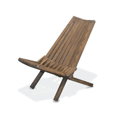 GloDea X36 No Knots Selection Lounge Chair, Expresso Brown (Belize Outdoor Furniture)