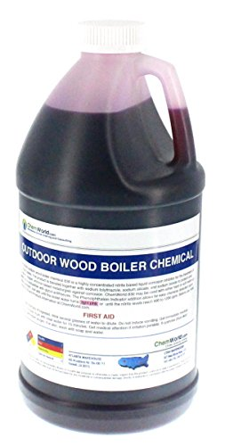 Boiler Rust Inhibitor - Wood Boiler Chemical - Boiler Freely Chemicals - Boiler Water Treatment - Boiler Chemicals - 64 oz container - Treats 250 to 420 Gallons of Thin out