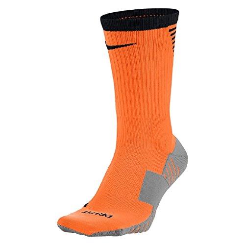 NIKE Men's Squad Football Crew Socks Size 8-12 (Orange - Black Orange Socks Nike