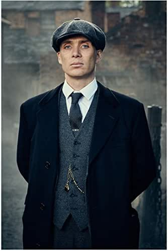 Peaky Blinders Cillian Murphy as Thomas Shelby Standing ...