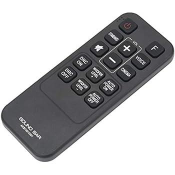 LG AKB74815381 Sound Bar Remote Control