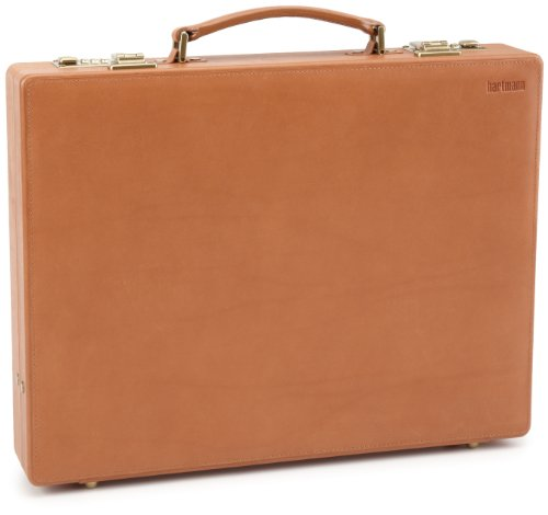 Hartmann Belting Leather Small Attache,Natural,One Size, Bags Central