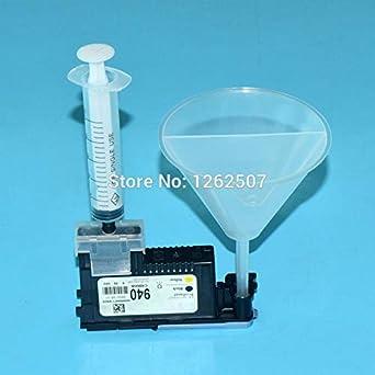 Amazon.com: Kit de limpieza de cabezal de impresora para Hp ...
