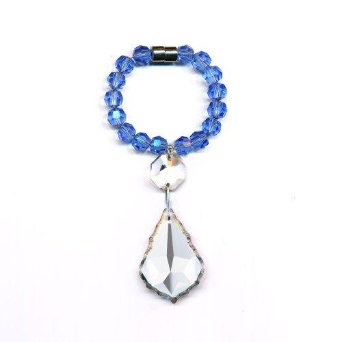 CrystalPlace Crystal Napking Rings - Wedding Decoration (Sapphire)