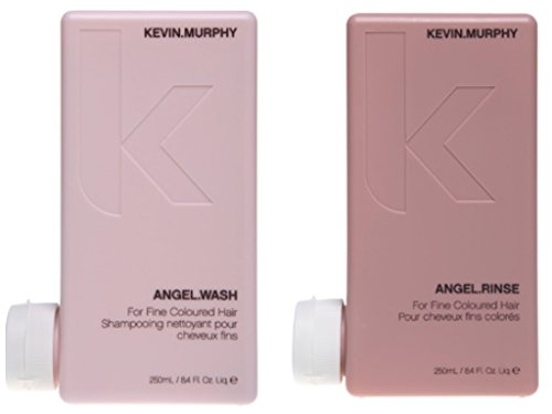 (Kevin Murphy Angel Wash and Rinse for Fine Colored Hair Set, 8.4 oz.)
