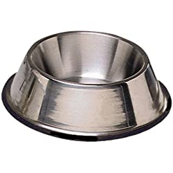 ProSelect Stainless Steel X-Super Heavyweight Non-Tip Pet Bowl, 6-Inch, 1-1/2-Pint