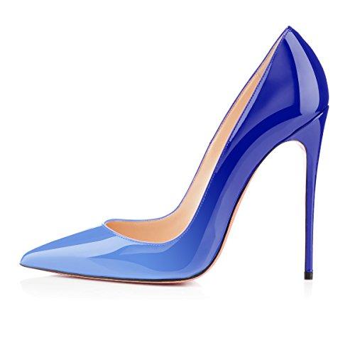 Blue Col Scarpe Tacco Scarpe Donna multicolore Alti Scarpe Classiche da uBeauty Col Tacco Tacchi Tacco Scarpe Donna Z4TH8w