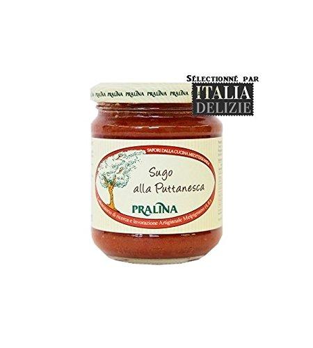 Pralina - Salsa artesanal italiana con puttanesca 180 gr: Amazon.es: Alimentación y bebidas