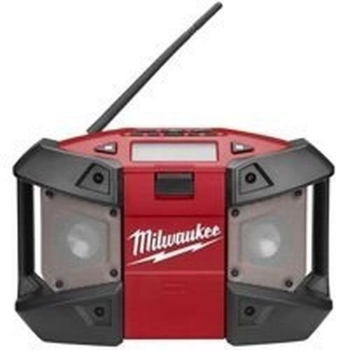 New Milwaukee 2590-20 M12 Cordless Tool Lithium Ion Jobsite Radio Mp3 12 Volt by Milwaukee
