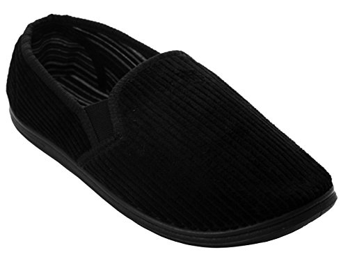 A&H Footwear - Zapatillas Bajas hombre Black/Corduroy