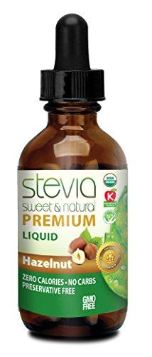 Hazelnut Liquid Stevia - Stevia Hazelnut Liquid 1oz