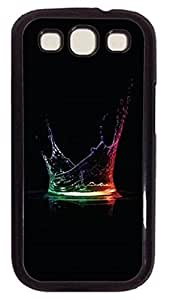 Fun Day Colorful Water Splash Protective Hard Pc Snap On Case For Samsung Galaxy S3 I9300 -1122072