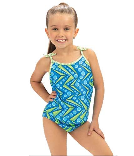 Dolfin Little Girl's Prints One Piece Swimsuit (Zenon, 5)