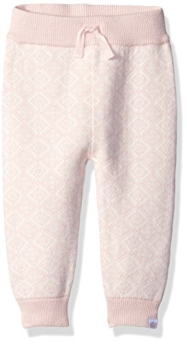 Rosie Pope Little Girls Intarsia Sweater Knit Pant, Pink, 24 Months - Intarsia Knit Sweater