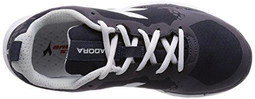 Diadora Nj-303-1 Rs W, Women's Shoes Schwarz - Schwarz / Weiß