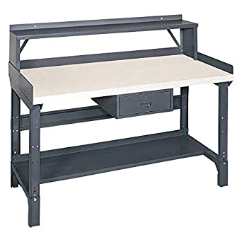 Superb Edsal 1407L Deluxe Adjustable Leg Steel Work Bench With Beatyapartments Chair Design Images Beatyapartmentscom