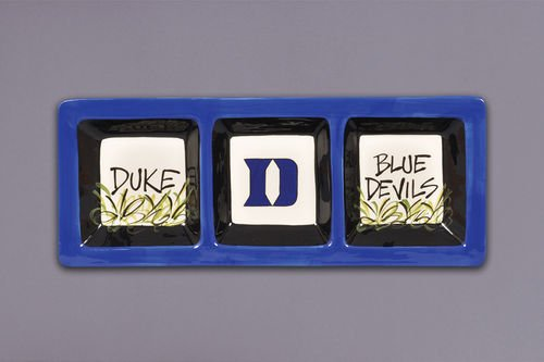 3 Section Serveware Tray (Duke Blue Devils)