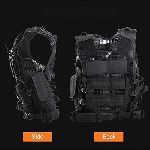 beautygoods Veste Tactique extérieure Costume d'armée de Campagne, Paintball Gaming Gilet Équipement Protecteur pour la… 2