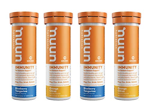 Nuun Immunity: Immune Support Hydration Supplement, Electrolytes, Antioxidants, Vitamin C, Zinc, Turmeric, Elderberry…