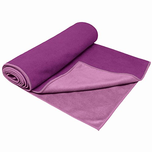 Gaiam Dual Grip Yoga Mat Towels