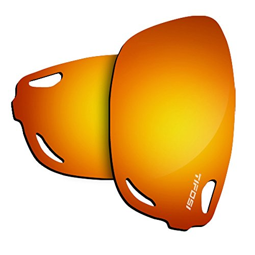 Tifosi Optics Jet FC Sunglasses Replacement Lenses (Smoke - Replacement Lenses Tifosi Sunglasses