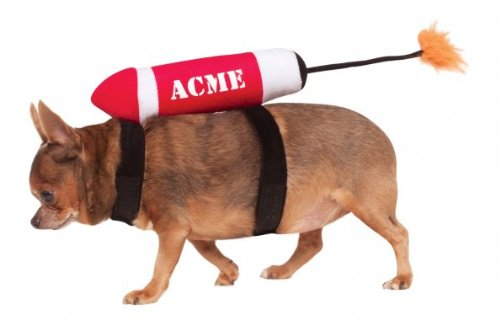 Rubies Costume Company Acme Pet Costume, Medium/Large