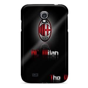 Premium Durable Ac Milan Fashion Tpu Galaxy S4 Protective Case Cover