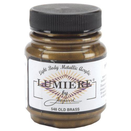 (Rupert, Gibbon & Spider Lumiere Fabric Paint 2 Oz. Jar: Old Brass by)