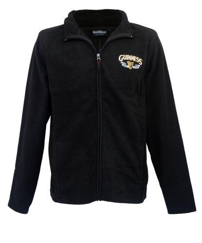 Veste Guinness Longues Merchandise Manches Official Hommes À Noir EZrgrOq