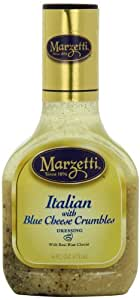 Marzetti Dressings, Italian with Blue Cheese Crumbles, 16 Ounce (Pack of 6)