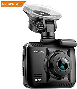 "2/"" FHD 2160P Car DVR Dual Len Dash Cam Camera Vehicle  GPS WiFi Video Recorder"
