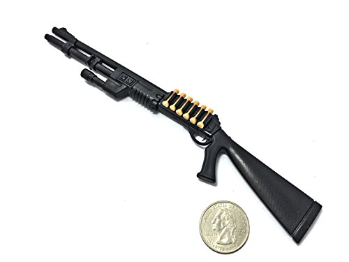 1/6 Scale M1 Super 90 Semi-Automatic Shotgun Benelli Miniature Toy Guns Model Fit For 12