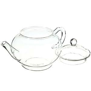 250ml 8.5oz Glass Teapot Heat Resistant Tea Kettle
