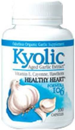 Kyolic, Garlic 106 with Vitamin E & Cayenne, 200 Count