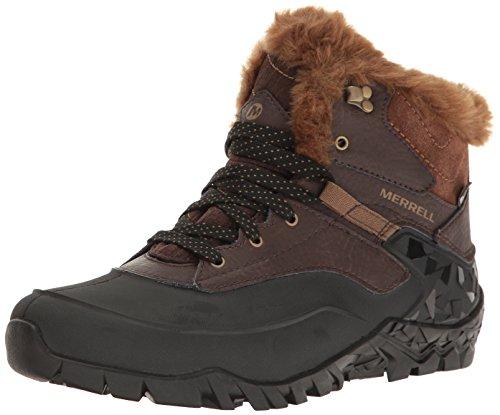 Merrell WoMen Aurora 6 Ice+ Waterproof High Rise Hiking Boots, US US Espresso